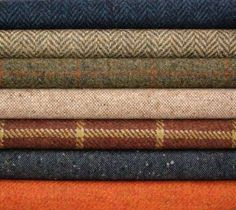 Donegal Tweed If I was rich I'd have my suits handmade in it