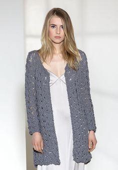 Lana Grossa JACKE Cotton Style - FILATI COLLEZIONE No. 2 - Modell 8 | FILATI.cc WebShop