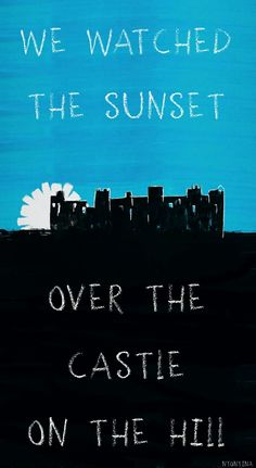 Ed Sheeran / Castle on the hill / Lyrics / Divide