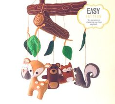 Hey, I found this really awesome Etsy listing at https://www.etsy.com/listing/229387109/woodland-mobile-sewing-pattern-diy