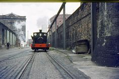 Archived Report - Exploring by Engine, Liverpool Docks, July 1971