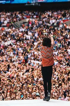 "mr-styles: ""Capital FM's Summertime Ball - "" Harry Styles 2015, Harry Styles Mode, Harry Styles Pictures, Harry Edward Styles, One Direction Singers, I Love One Direction, Capital Fm, Holmes Chapel, Mr Style"