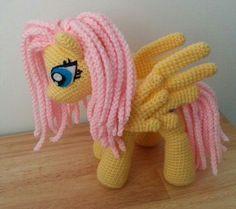 Crochet My Little Pony Fluttershy | My little pony - Fluttershy!