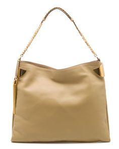 GUCCI '1970' Large Leather Shoulder Bag