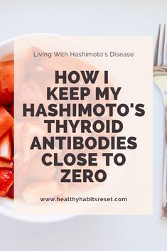At one point, my Hashimoto's thyroid antibodies were over Over the years, I've learned how to lower them and keep them close to zero, while also experiencing remission of my symptoms. Detox Symptoms, Thyroid Symptoms, Thyroid Disease, Thyroid Health, Hypothyroidism, Autoimmune Disease, Chronic Disease Management, Stress Relief Essential Oils, Calamari