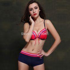 $28.00 (Buy here: https://alitems.com/g/1e8d114494ebda23ff8b16525dc3e8/?i=5&ulp=https%3A%2F%2Fwww.aliexpress.com%2Fitem%2F2015-Fashion-New-Arrival-boxer-bikini-swimwear-Free-shipping-patchwork-sexy-secret-Brazilian-push-up-sports%2F32309842352.html ) 2016 New Arrival boxer bikini swimwear Free shipping patchwork sexy secret Brazilian push up sports swimsuit women for just $28.00
