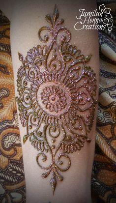 arm mandala henna www.jamilahhennacreations.com