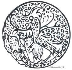 Leopard Ouroboros Tattoo