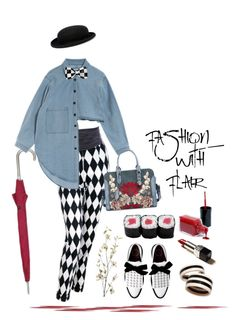 """""""15.10.16"""" by malenafashion27 ❤ liked on Polyvore featuring Versace, London Fog, Alexander McQueen, Pier 1 Imports, R.J. Graziano, ASOS and Beauty Secrets"""