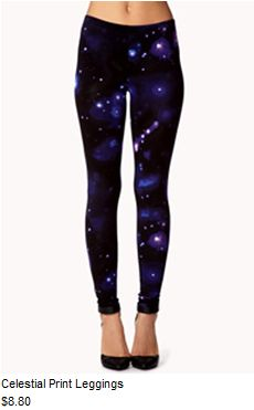 I usually don't like those space pants but I like these ones
