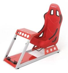 GamePod - GT2 SE Red Gaming Race Seat