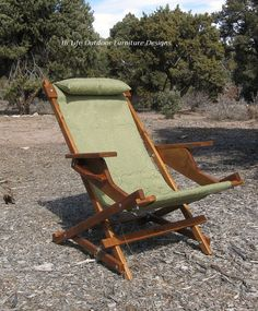 Carrara Prospector Handcrafted Wood Chair by OutdoorWoodFurniture