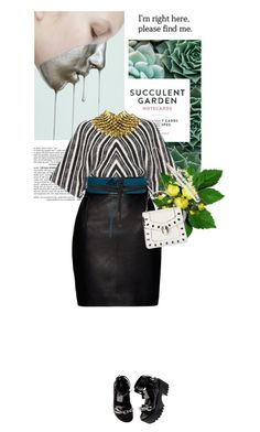 """""""[370] - I'm Right Here, Please Find Me"""" by ginevra-18 ❤ liked on Polyvore featuring Chronicle Books, BCBGMAXAZRIA, Martin Grant, Magda Butrym, LUISA BECCARIA, Beaufille, Nearly Natural, polyvoreeditorial, ginevra18 and spring2016"""