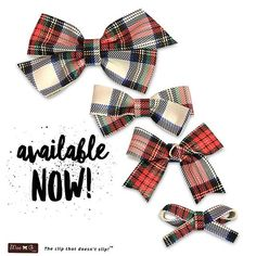 The official holiday shopping season is about to start (how it came so fast, I have no idea)! These awesome genuine leather plaid bows are available in the shop NOW! Perfect for the season and for gift giving (and stocking stuffers). • What's the weather where you're at? Does it feel like November is on its way?