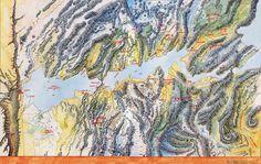 Provinces de Laelith : Olizya, Kaoca, Azilian, Agramor, Egonzasthan, Jadhys, Muïck, et Saint-Bris.
