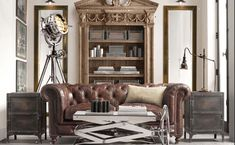 The Intentional Apartment: 26 Examples of a Masculine Home from the Pages of the Restoration Hardware Catalog | Primer