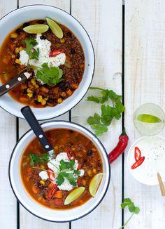 One Pot Mexicansk Quinoagryde