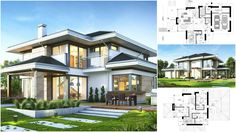 Contemporary House Concept and Excellent Organised Home Plan – Architecture Admirers