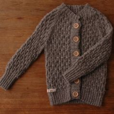 fawn & fox cardigan / love the allover smocking stitch