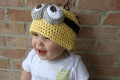 Bring a minion to life with this easy-to-follow crochet pattern!