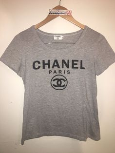 7ac8bae970fa4 VINTAGE 1990 S CHANEL BOOTLEG SHIRT SIZE XL Rare Womens  fashion  clothing   shoes