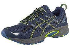 d8c285393491 Asics Asics Běžecké boty Gel-Venture 5 modr neon lut - standardní velikost  43