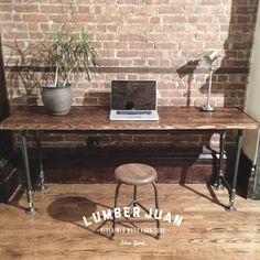 Reclaimed Wood Desk