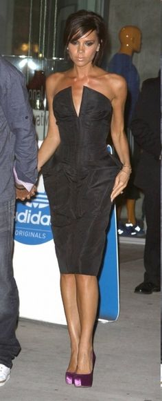 Mrs. Beckham...Love the shoes!
