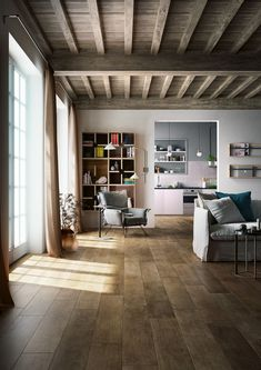 TREVERKTIME  COLLECTION BY MARAZZI CERAMICHE / YEAR 2015 | @marazzitiles #cersaie2015 |