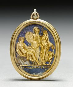 """The Cleveland Museum of Art's recently acquired pendant depicting """"Mars, Minerva, Venus and Cupid,"""" made in the early 1500s by Valerio Belli of Italy, displays the Renaissance fascination with ancient Greece and Rome"""
