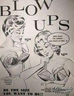 Blow up bras!