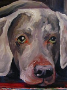 Weim by: Laura Welch I want one of mari!