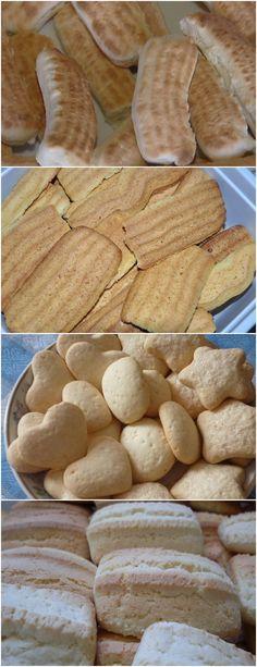 Grandma's homemade cookie, a super easy treat with nostalgic flavor Brunch Recipes, Appetizer Recipes, Dessert Recipes, Gluten Free Recipes, Baking Recipes, Biscuits, Portuguese Recipes, Appetisers, Four