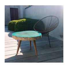The perfect side table for thus summer