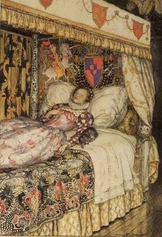 The Sleeping Beauty illustrated by Arthur Rackham - 1916