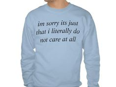 Words can't even express how much you don't care. | 28 T-Shirts For When You Literally Cannot