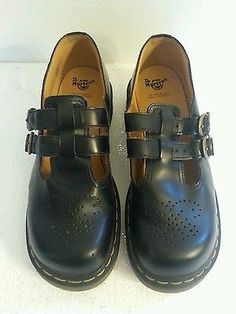 Black Mary Jane style women's Dr Martens,  US size 9