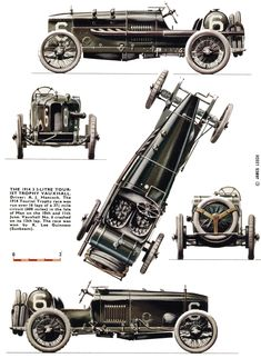 Vauxhall 3.3L GP (1914 Tourist Trophy) | SMCars.Net - Car Blueprints Forum