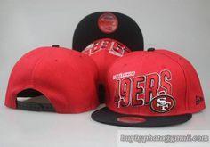 684d45dd918ba NFL San Francisco 49ers 9Fifty Snapback Hats Caps Red