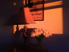 Orange light and shadow