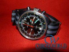 Brand: POLJOT  Model: Syturman Chronograph  Strap: NATO (Bond 18mm)  Owner: S.U.(Nagano,Japan)  Purchase this Strap at:   http://www.chronoworld.com/watch-straps-bands/nato-g10-type/nato-g10-watch-strap-band-16mm-18mm-20mm.html  #watchstraps #watch #natostrap