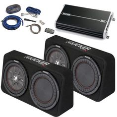 This package contains two Kicker Subwoofers in low-profile enclosures with passive-radiators a Kicker DXA 1500 RMS Watt Amplifier and a Kicker Wiring Kit.  sc 1 st  Pinterest : kicker 4 gauge wiring kit - yogabreezes.com