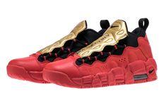 be003ff22be Nike Air More Money University Red Metallic Gold Release Date - Sneaker Bar  Detroit