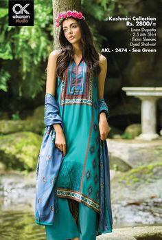 Formal Wear Suits For Girls By Alkaram From 2014 & 2015 Winter Dresses, Casual Dresses, Girls Dresses, Winter Collection, Dress Collection, Pakistani Designer Suits, Pakistani Street Style, Dress Suits, Formal Wear