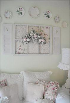 Shabby Chic Wall Decorating Ideas 19