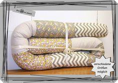 Nestchen - Bettschlange, Nestchen, Bettrolle, Lagerungshilfe - ein Designerstück von theminipeace bei DaWanda