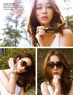 Lee Min Jung - Elle Magazine April Issue '14