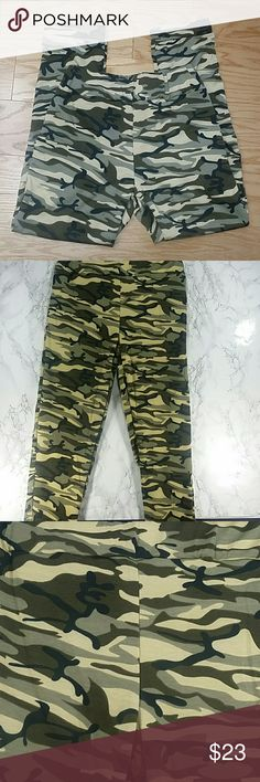 Adults Camouflage pants.  Adult Adorable and comfortable pants in camouflage design.  Great as yoga pants,  sweatpants etc. Very comfortable.  Have pockets Pull up style.  This item is brand new and never used. Pants
