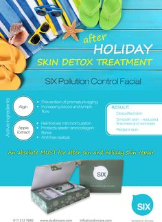 Detox your skin this month with #sixsensationalskincare pollution control facial. A facial that uses a intensive mask to detox the skin and a intensive massage technique to relax and rejuvenate the skin. On special in the month of January contact us to find your closest stockiest! Skin Detox, After Sun, Massage Techniques, Radiant Skin, Smooth Skin, Collagen, Your Skin, Feel Good, Finding Yourself