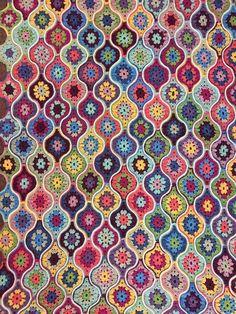 Jane Crowfoot. Mystical Lanterns Crochet Blanket in Stylecraft Life DK | Deramores